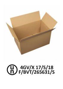 Emballage 4GV agrée pour un poids brut maximum de 17 kg