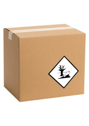 Etiquette de marque dangereux pour l'environnement