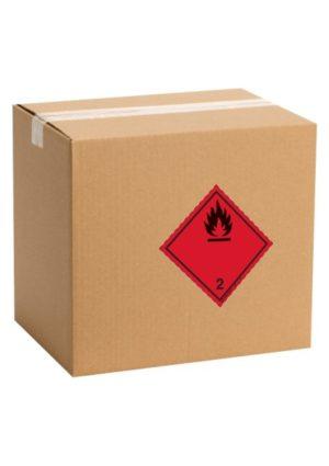 Etiquette de danger pour colis ADR classe 2.1
