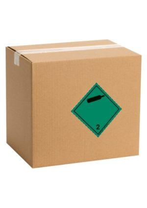 Etiquette de danger pour colis ADR classe 2.2