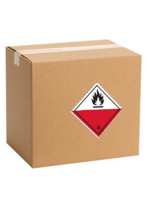 Etiquette de danger pour colis ADR classe 4.2