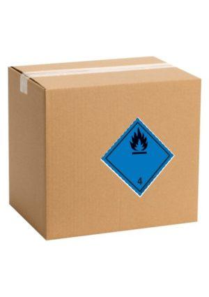 Etiquette de danger pour colis ADR classe 4.3
