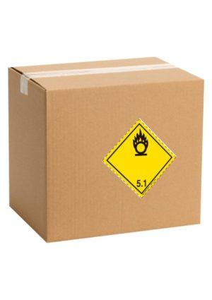 Etiquette de danger pour colis ADR classe 5.1