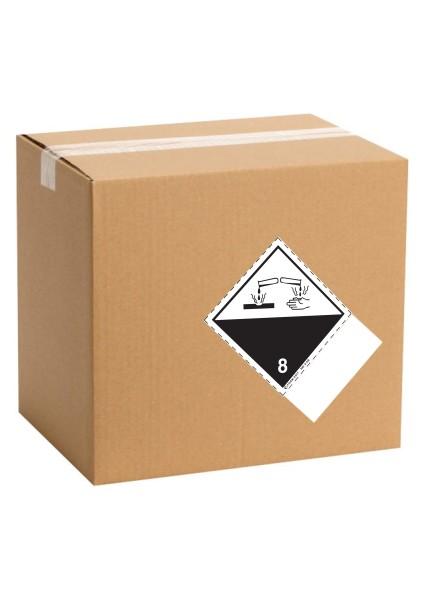 Etiquette de danger pour colis ADR classe 8