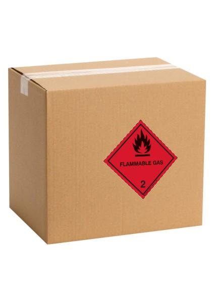 Etiquette de danger pour colis IATA classe 2.1