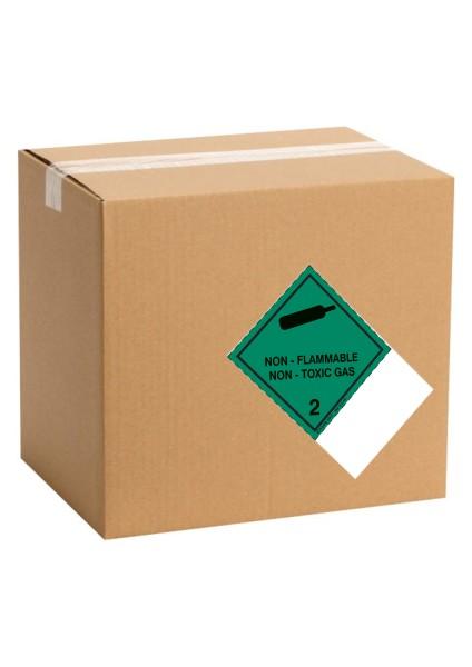 Etiquette de danger pour colis IATA classe 2.2