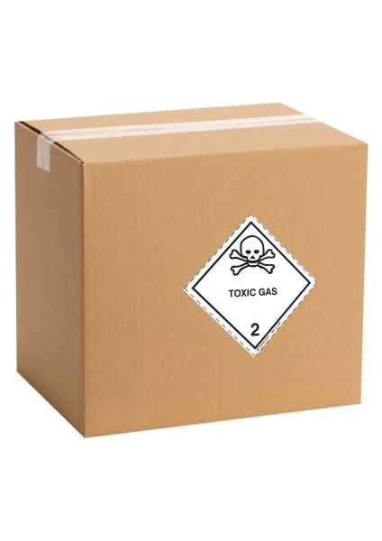 Etiquette de danger pour colis IATA classe 2.3