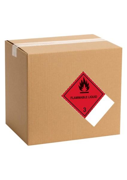 étiquette de danger pour colis IATA classe 3