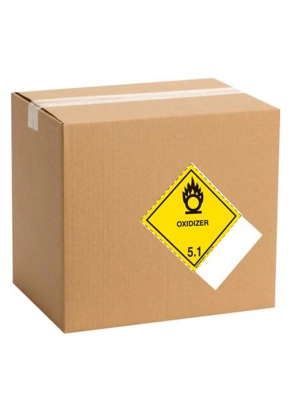 Etiquette de danger pour colis IATA classe 5.1