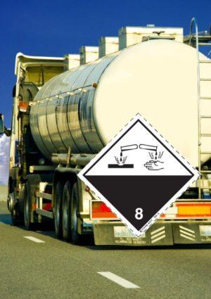 Signalisation véhicule routier classe 8