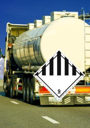 Signalisation véhicule routier classe 9