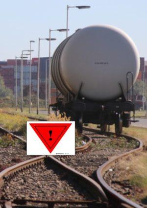 marquage pour wagon marchandises dangereuses