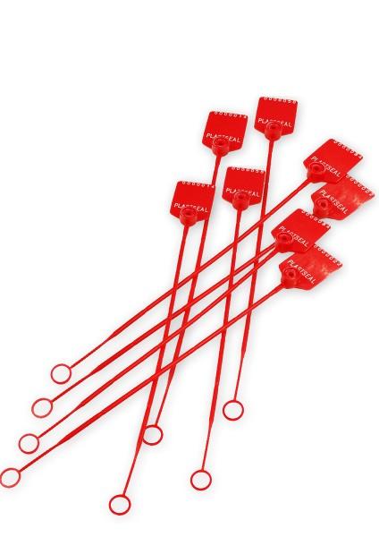 scellés rouge PVC pour big bag amiante
