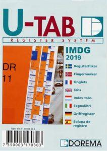 Onglet UTAB IMDG 2019