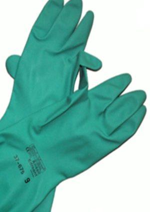 équipement gants de sécurité en nitrile
