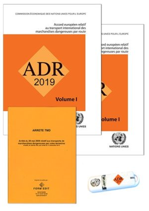 Pack ADR2019 - format A4