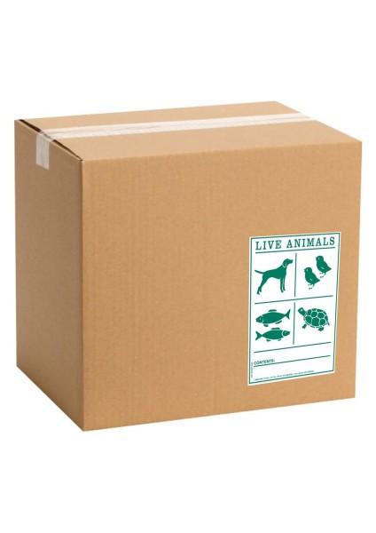 Etiquette de marque pour colis IATA animaux vivants