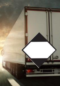marquage pour camion marchandises dangereuses