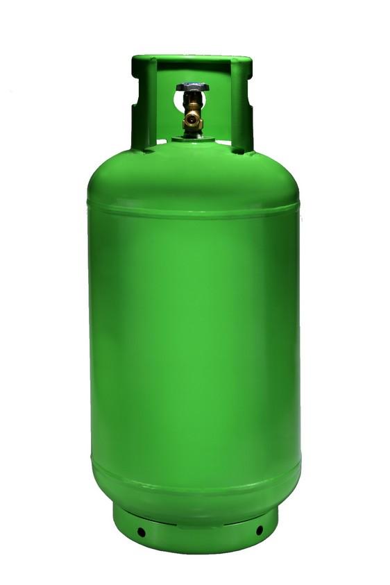 Bouteilles de gaz métalliques